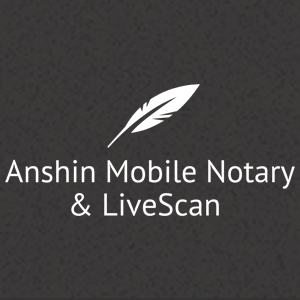 Mobile Notary Services Anshin Mobile Notary Livescan